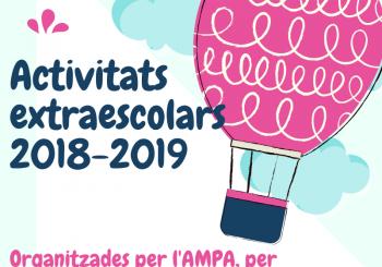 Activitats extraescolars 2018-2019