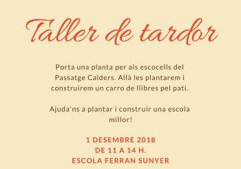 DISSABTE1/12: TALLER DE TARDOR