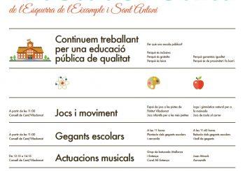 23/3:III Diada de l'Educació Pública de l'Esquerra de l'Eixample i Sant Antoni