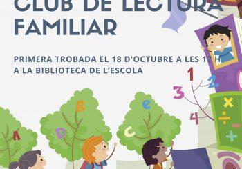 Famílies, el club de lectura de l'Ampa us demana ajuda!! AMPLIEM PLAÇ!!